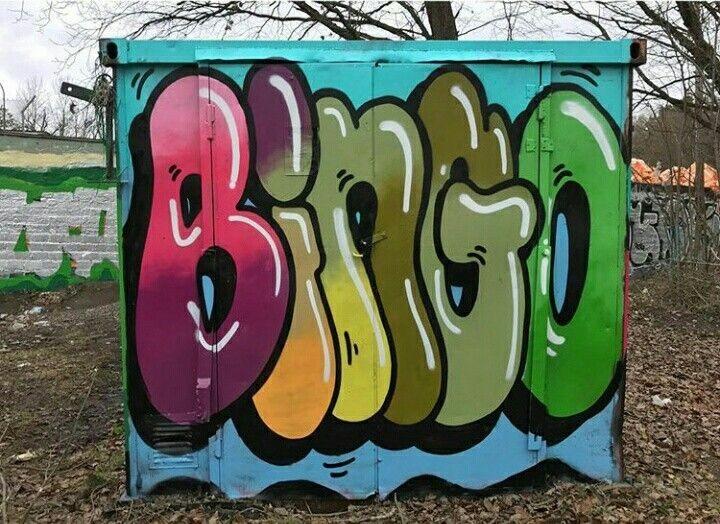 Bingo Urban Art